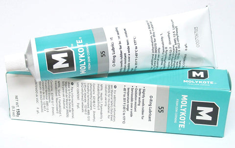 Image of DOW CORNING MOLYKOTE 55 O-Ring Silicone Grease Lubricant Lube 5.3 oz Tube
