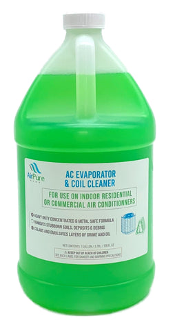 Mini Split Cleaning Kit Featuring A Powerful Coil Cleaner & CleanAir Odour Treatment Tab by Air Pure Shop