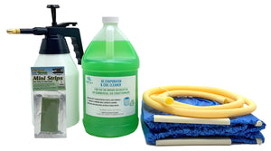 Mini Split Cleaning Kit Featuring A Powerful Coil Cleaner