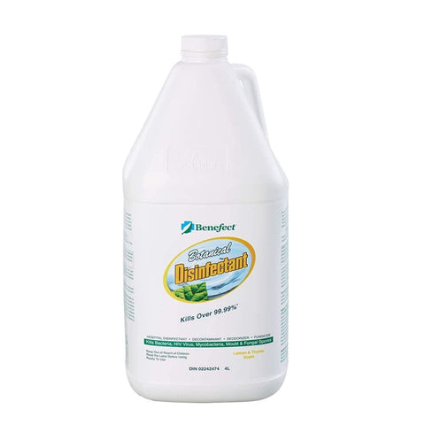 Benefect Botanical Disinfectant and Fungicide - Professional Grade Cleaning with No Hazardous Chemicals for Household or Commercial Use - 4
