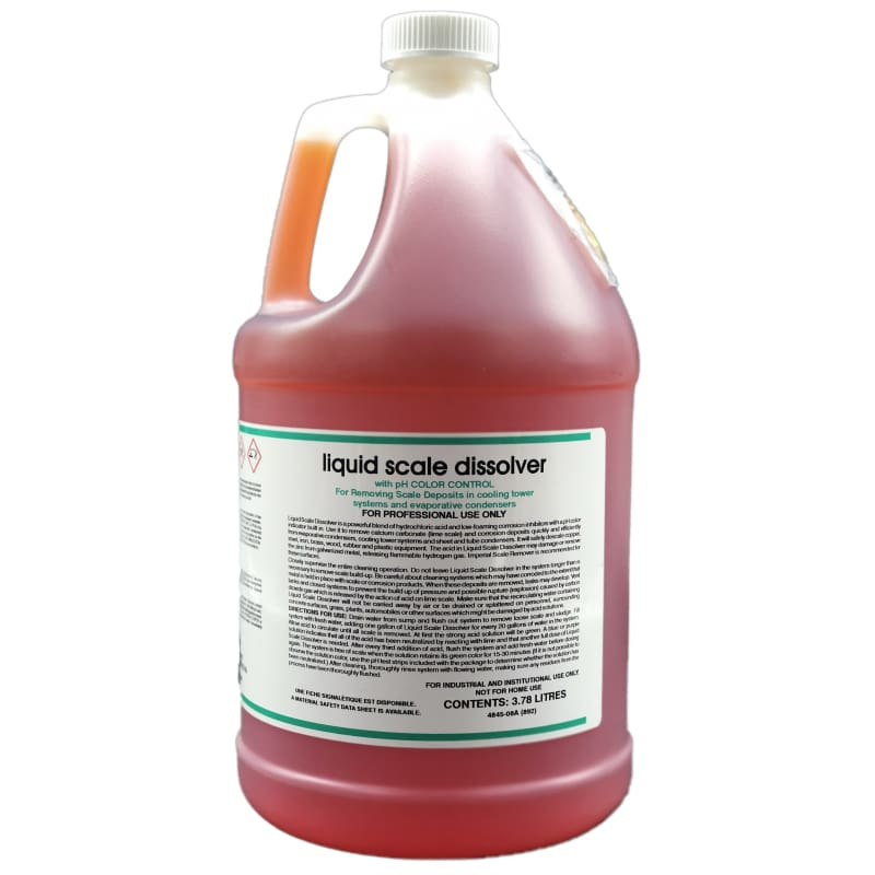 Liquid scale dissolver 1 gal. - HVAC by Nu-Calgon