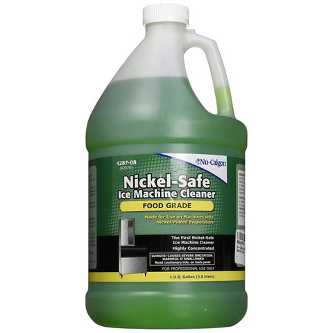 Nu-Calgon 4287-08 Nickel Safe Ice Machine Cleaner-Gal