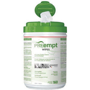 PREempt Wipes – One-Step Surface Cleaner and Disinfectant