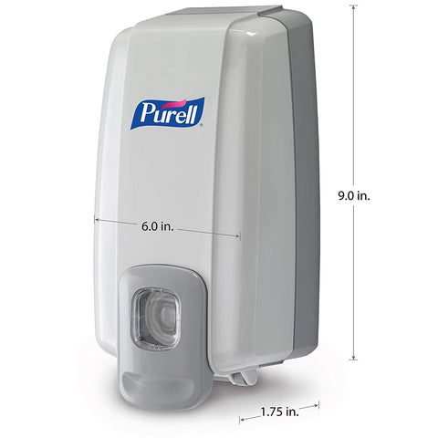 Image of Purell 2120-06 NXT Space Saver Dispenser, Dove Gray (Pack of 6)