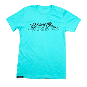 State of Grace Logo Tee - Blue