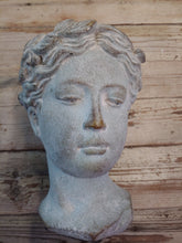 "Load image into Gallery viewer, 8.5"" small Diana Classic Woman Head Planter 52885"