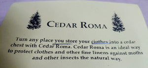 Cedar Chips - Cedar Aroma - Protect your Clothes against Moths