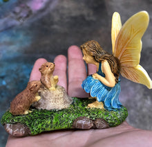 Load image into Gallery viewer, Fairy Garden Fairy |  NEW | gophers looking for some small talk | Miniature Supply |accessories