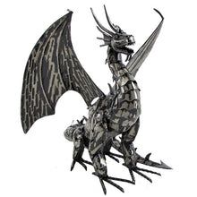 Load image into Gallery viewer, 2' metal filagree dragon