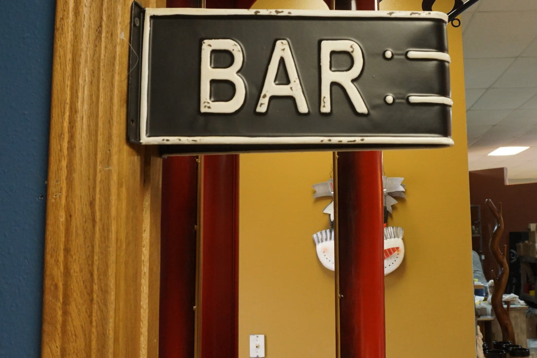 Bar sign | Metal | perfect for the man cave or the she shed!
