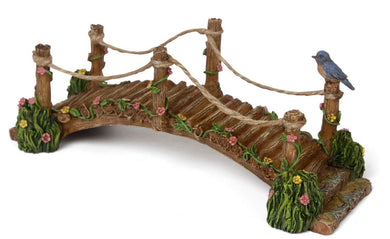 Blue Bird Bridge | Miniature Fairy Garden | MG281