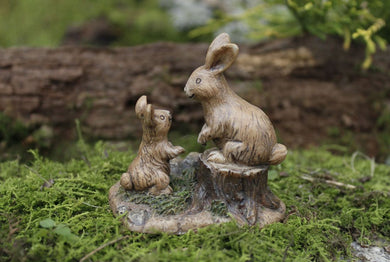 Bunny Friends |  Miniature Fairy Garden accessories | farm MG5