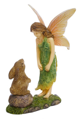 Chatting with Rabbit Neighbors | Fairy Garden |  MG321 | Catching up | NEW 2020