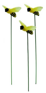Copy of Glow-in-the-Dark Bumble bees | Set of 3 | Fairy Garden | MG389 New 2021