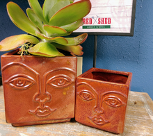Load image into Gallery viewer, Square Face Planter | 4.5"