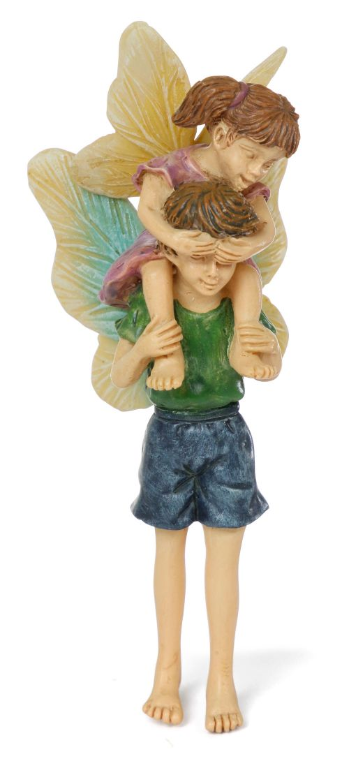 "RESIN | 'BROTHER AND SISTER' | MG277 | 3.25"" T 