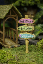 Load image into Gallery viewer, Troll Bridge Sign for Fairy Garden MG373