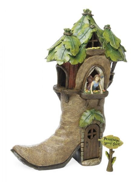 Fairy Garden Cowboy Boot House