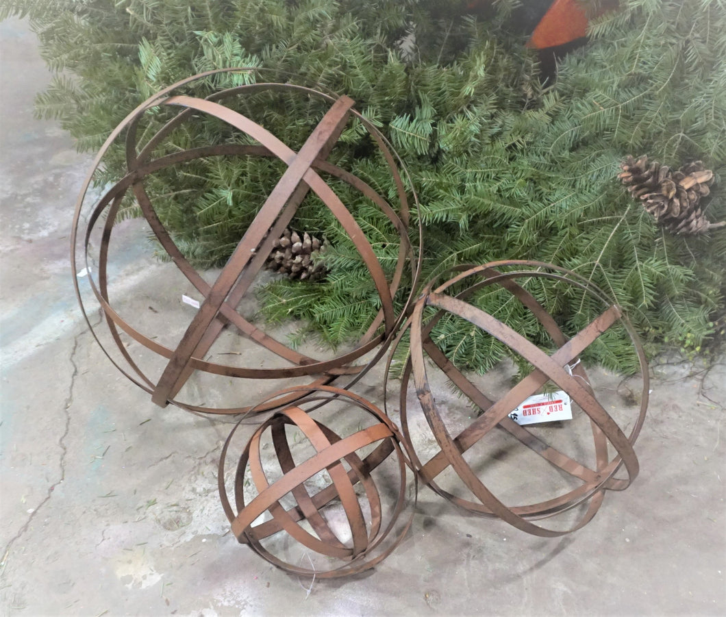 Hoop wreath frame | Metal Folding Spheres | Various Sizes Available | Collapsible Bands | Metal Orb 8