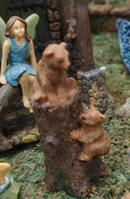 Load image into Gallery viewer, Fairy Garden Bear and Cub
