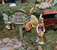 Load image into Gallery viewer, Fairy Garden Mom teaching her boy his first steps