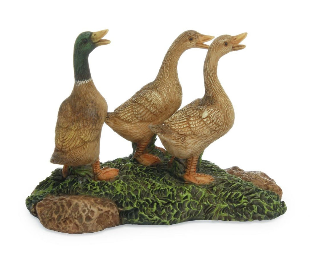 Fairy Garden |  Ducks | Mallard Duck | Fairy -  Miniature Fairy Garden Supply | farm accessories | Quackers