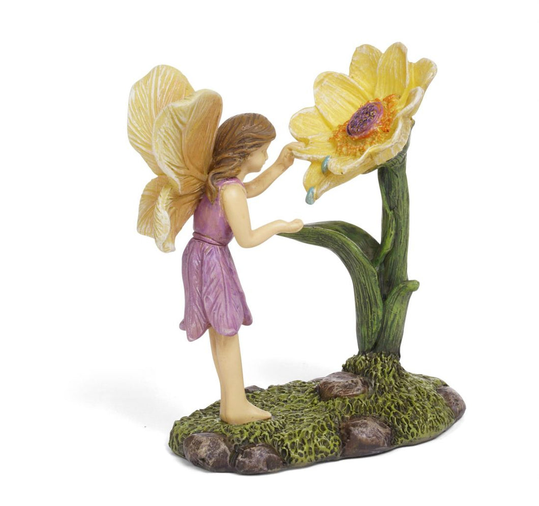 Morning Dew Fairy Miniature Fairy for your Fairy Garden