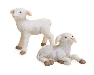 Set of 2 Sheep for your Fairy Garden MG83 | Farm accessories | Miniature
