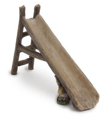Miniature wooden slide for the playground in your fairy garden| Miniature NEW 2020