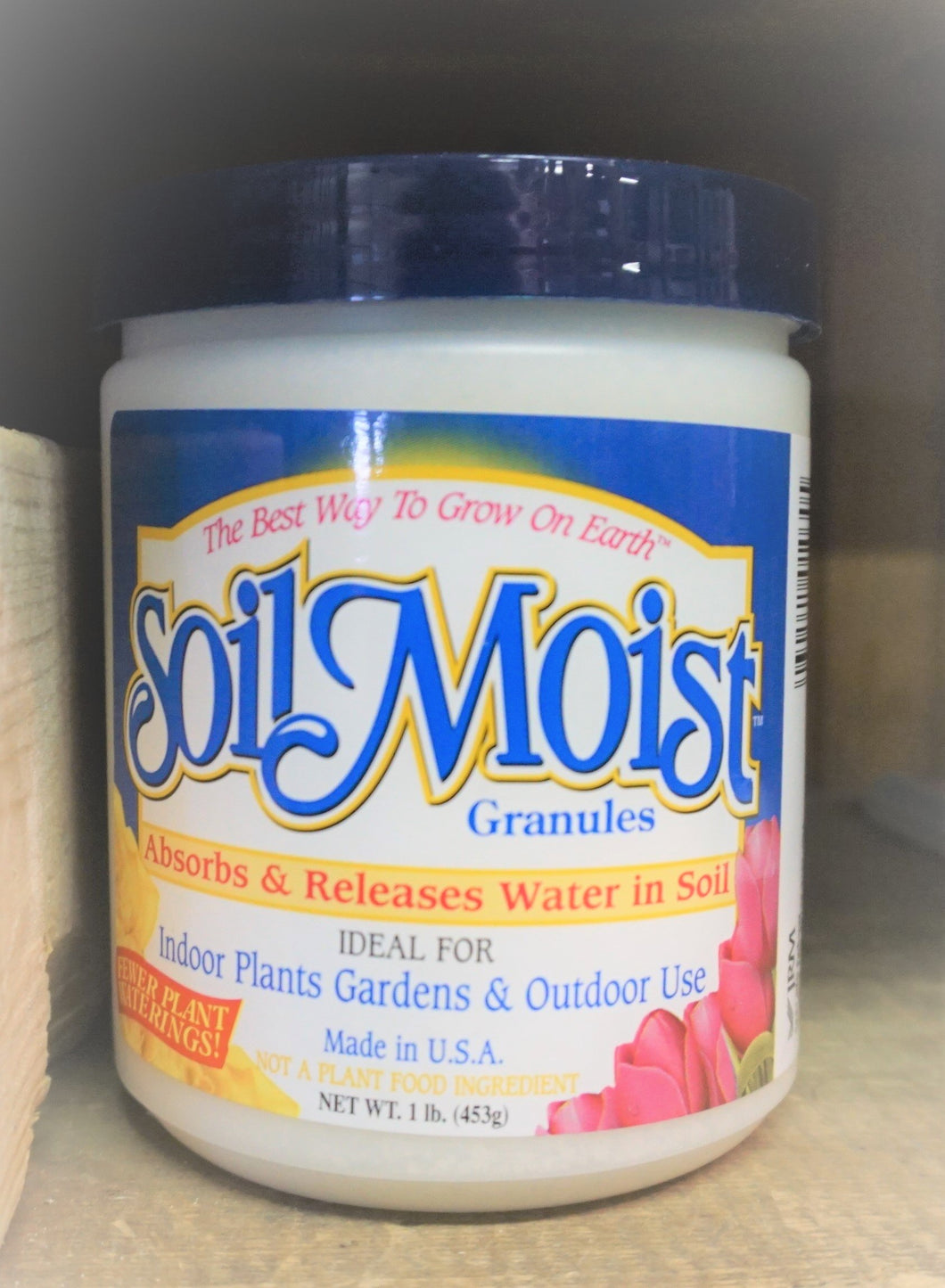 Soil Moist granules. 1 lb Cut your watering in 1/2