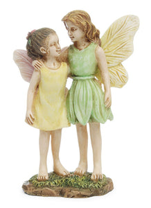 Fairy Garden | Standing Sisters or best friends MG121 | Perfect for your fairy garden