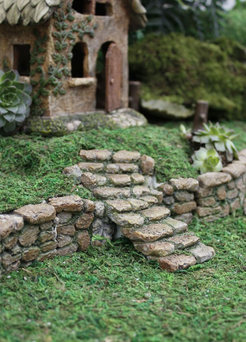 fairy garden fairy garden accessories Red Shed Baraboo Fairy steps