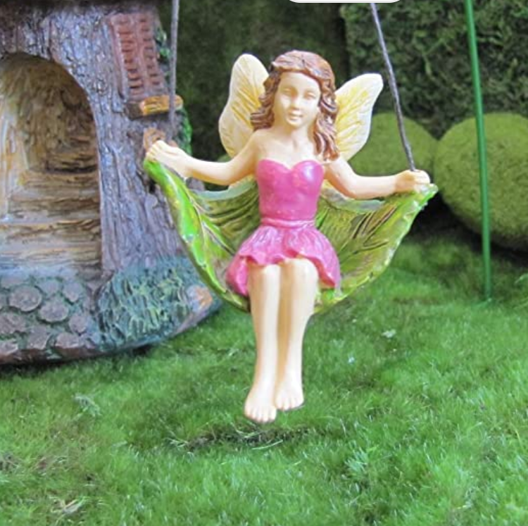Swinging Fairy with Metal Hook| mg71