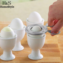 Load image into Gallery viewer, Boiled Cooked Egg Topper Snip Cutter - findurtrend