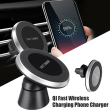 Load image into Gallery viewer, Rotatable Qi wireless charger and car mount - findurtrend
