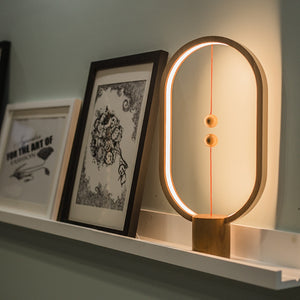 Creative Smart Balance Magnetic Switch LED Table Lamp - findurtrend