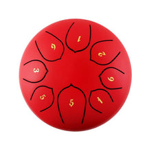 Load image into Gallery viewer, Steel Tongue Drum Set Red- Findurtrend