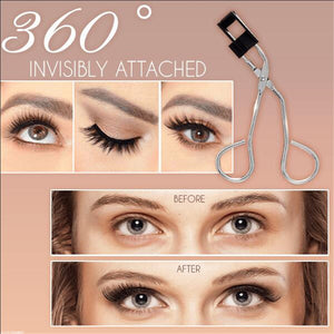 Magnetic Quantum Eyelash Curler With False Eyelashes Waterproof No Glue No Eyeliner Long Lasting Eyelash Extension Easy To Wear