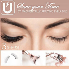 Load image into Gallery viewer, Magnetic Quantum Eyelash Curler With False Eyelashes Waterproof No Glue No Eyeliner Long Lasting Eyelash Extension Easy To Wear