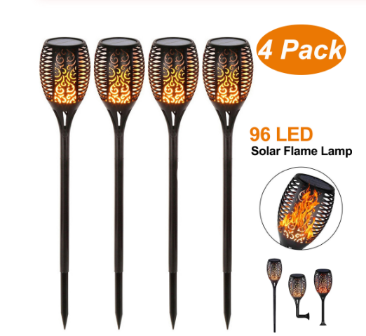Designer Solar LED Lamp