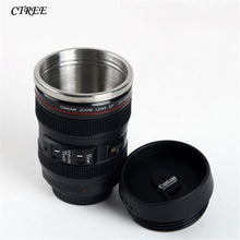 Load image into Gallery viewer, 400ML SLR Camera Lens Coffee Tea - Travel Mug - findurtrend