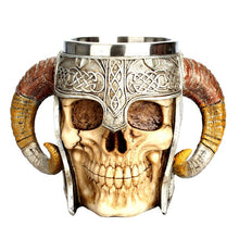 Load image into Gallery viewer, Creative 3D Skull Knight Mug - findurtrend