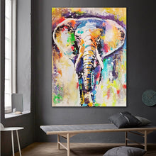 Load image into Gallery viewer, Colorful Elephant Wall Art - findurtrend