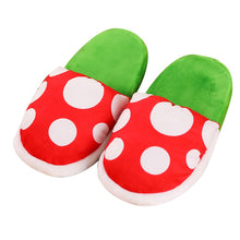Load image into Gallery viewer, Super Mario Bros Slippers - Winter Plush Slipper