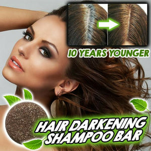 Hair Darkening Shampoo Bar - Natural Organic Conditioner and Repair - Findurtrend
