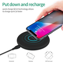 Load image into Gallery viewer, Fast Wireless Charger - Dissipate Heat - 10W QI Fast Charging - findurtrend