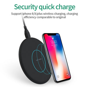 Fast Wireless Charger - Dissipate Heat - 10W QI Fast Charging - findurtrend
