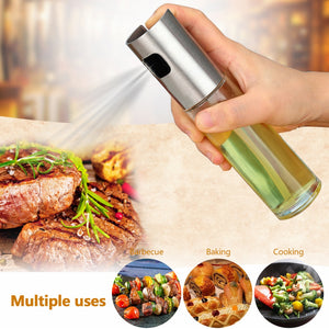 Glass Oil Spray - Oil Dispenser for BBQ, Salad,Cooking,Baking,Roasting, Frying Tools - findurtrend