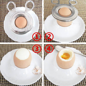 Boiled Cooked Egg Topper Snip Cutter - findurtrend