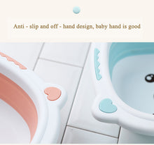 Load image into Gallery viewer, Portable Collapsible Tourism Baby Bathtub - findurtrend